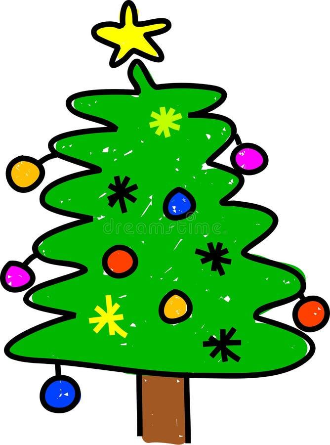 Download χριστουγεννιάτικο δέντρο απεικόνιση αποθεμάτων. εικονογραφία από διακοσμητικός - 2226675