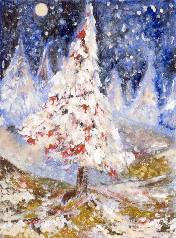 χριστουγεννιάτικο δέντρο διανυσματική απεικόνιση