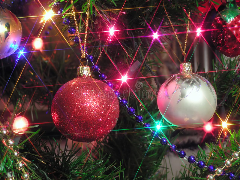 χριστουγεννιάτικο δέντρο στοκ εικόνα με δικαίωμα ελεύθερης χρήσης