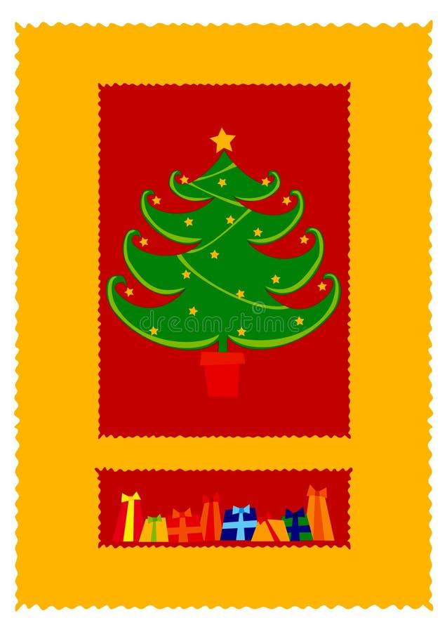Download χριστουγεννιάτικο δέντρ&om απεικόνιση αποθεμάτων. εικονογραφία από claus - 383753