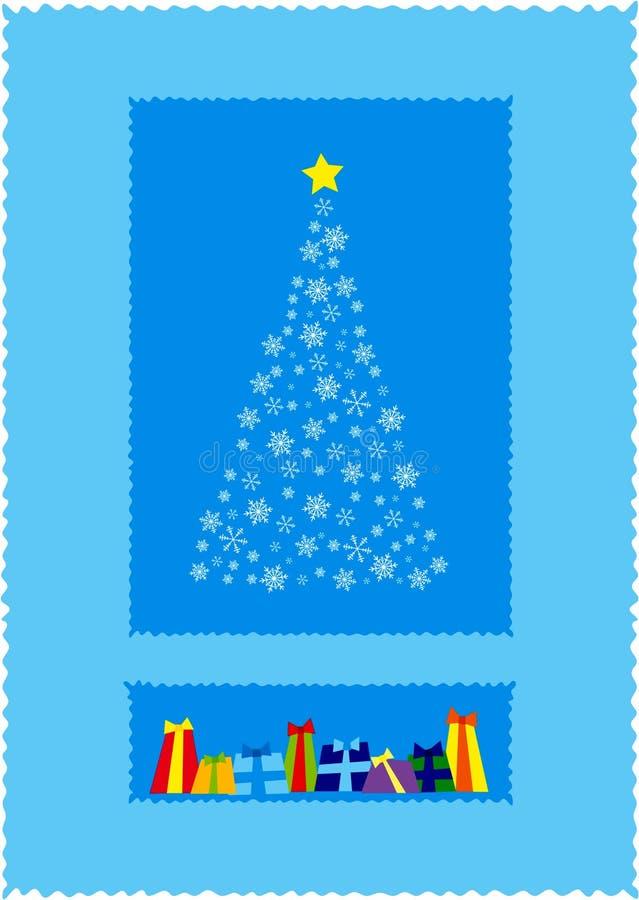 Download χριστουγεννιάτικο δέντρ&om απεικόνιση αποθεμάτων. εικονογραφία από διακοπές - 383754