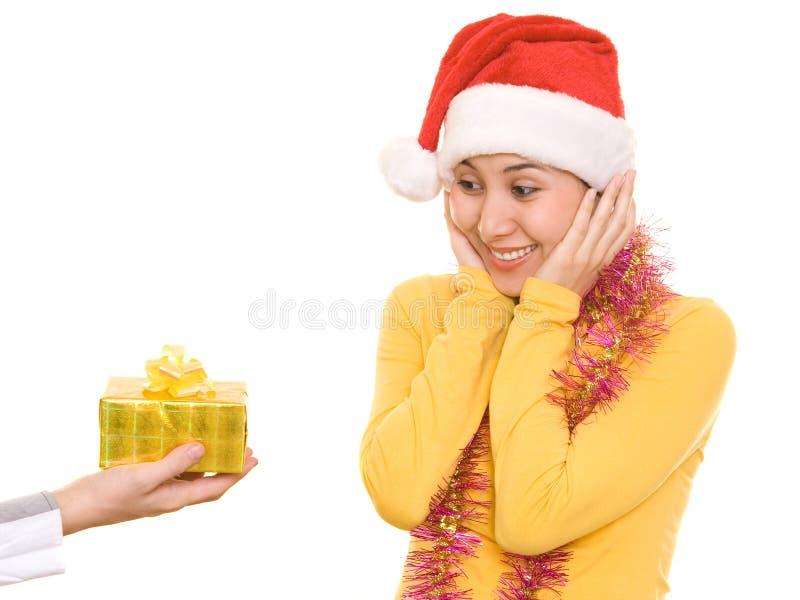 Download χριστουγεννιάτικο δώρο στοκ εικόνα. εικόνα από έκφραση - 1547715