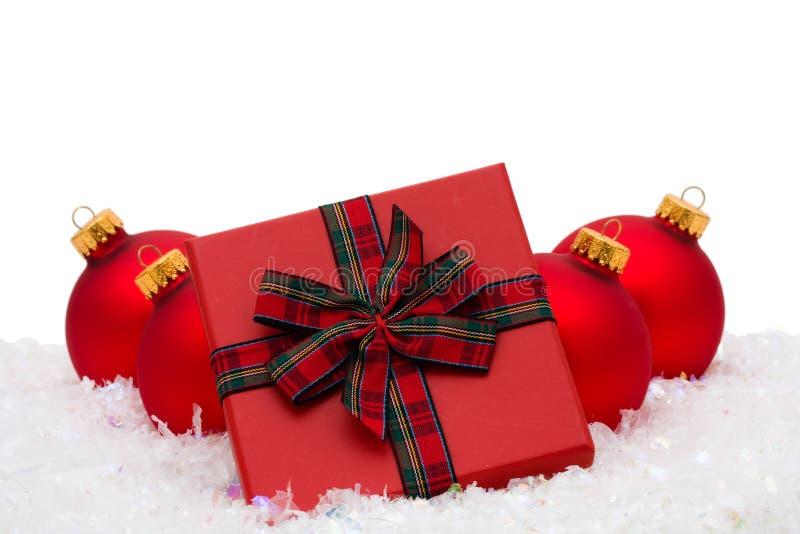 χριστουγεννιάτικο δώρο στοκ εικόνες