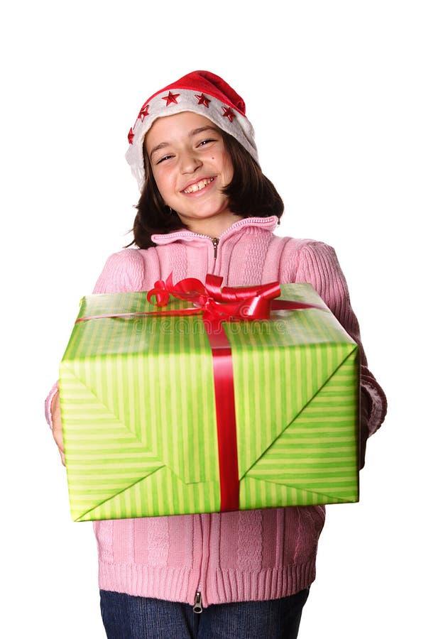 χριστουγεννιάτικο δώρο στοκ φωτογραφίες με δικαίωμα ελεύθερης χρήσης