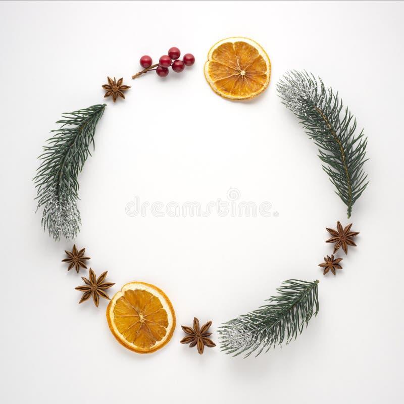 Χριστουγεννιάτικο στεφάνι στοκ εικόνες