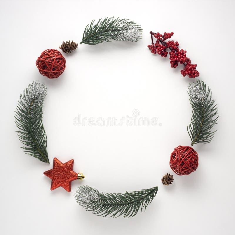Χριστουγεννιάτικο στεφάνι στοκ εικόνα με δικαίωμα ελεύθερης χρήσης
