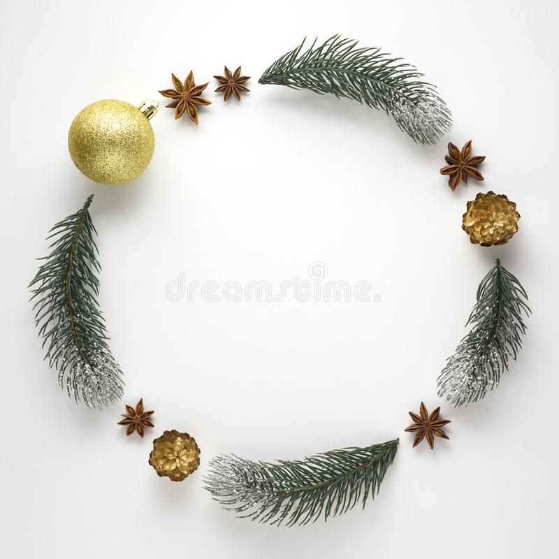 Χριστουγεννιάτικο στεφάνι στοκ φωτογραφίες με δικαίωμα ελεύθερης χρήσης