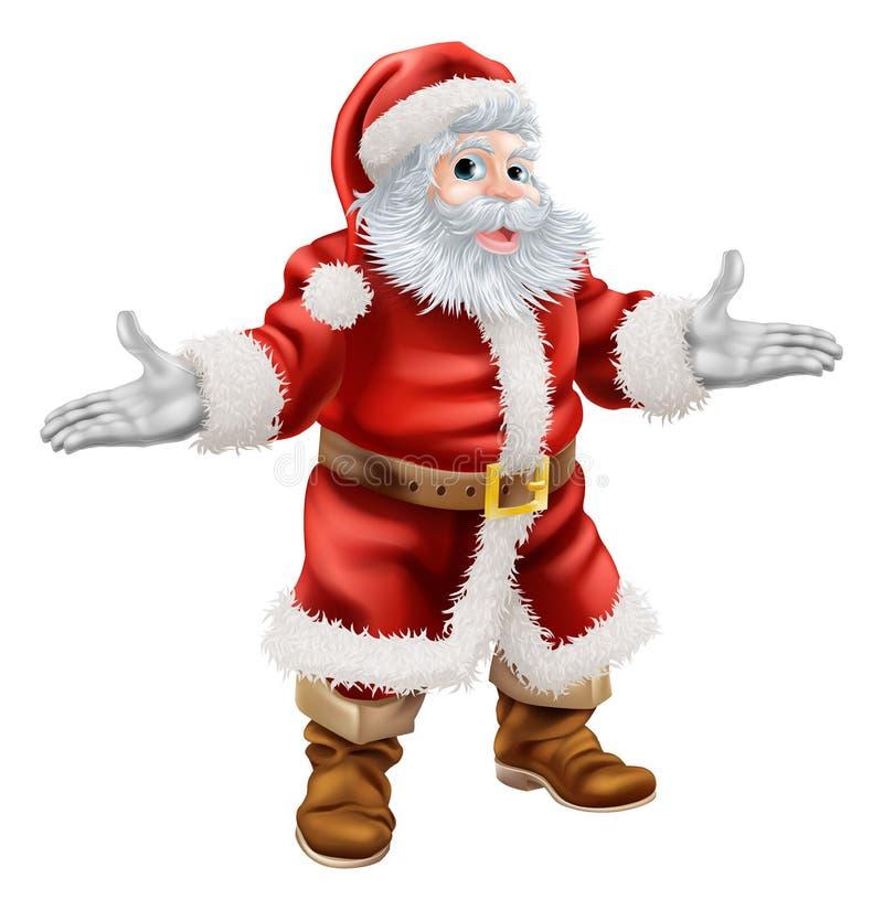 Χριστούγεννα Άγιος Βασίλης διανυσματική απεικόνιση