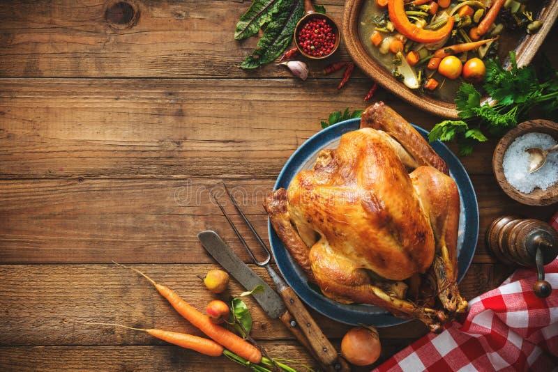 Χριστούγεννα ή ημέρα των ευχαριστιών Τουρκία στοκ εικόνα με δικαίωμα ελεύθερης χρήσης