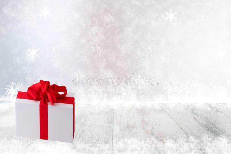 Χριστούγεννα ή υπόβαθρο διακοσμήσεων καλής χρονιάς GIF Χριστουγέννων στοκ εικόνα με δικαίωμα ελεύθερης χρήσης