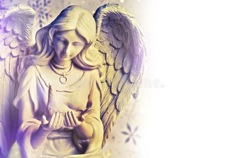 Χριστούγεννα αγγέλου στοκ εικόνα
