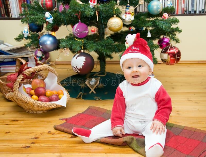 Χριστούγεννα αγοριών στοκ εικόνα με δικαίωμα ελεύθερης χρήσης