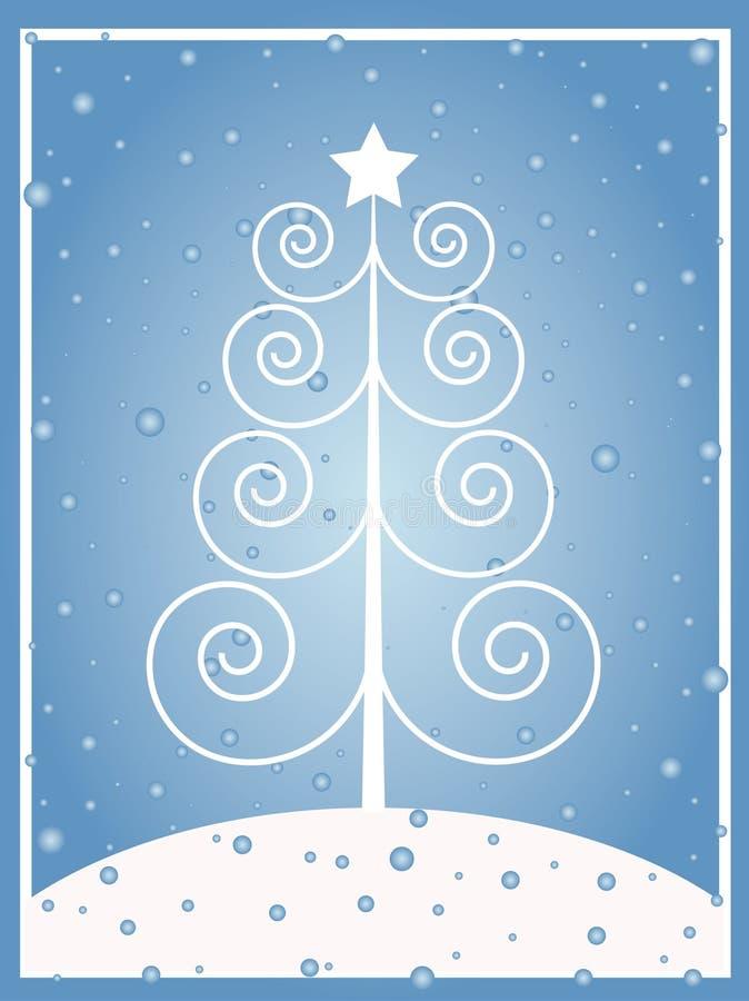 Χριστούγεννα αναδρομικά διανυσματική απεικόνιση