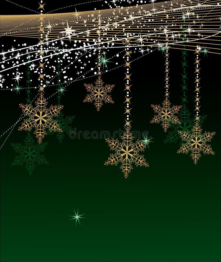 Download Χριστούγεννα ανασκόπησης διανυσματική απεικόνιση. εικονογραφία από χρυσός - 22787476