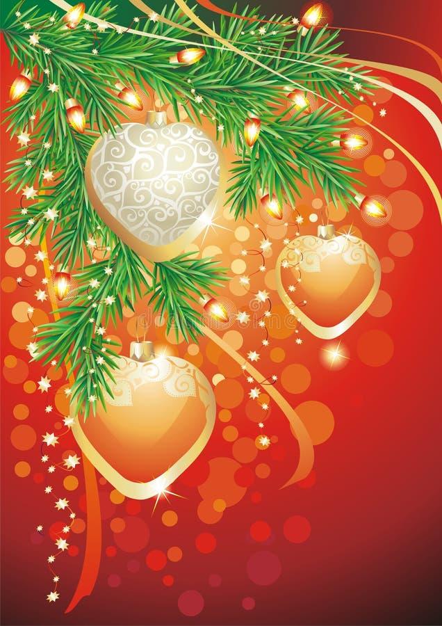 Χριστούγεννα ανασκόπηση&sigm ελεύθερη απεικόνιση δικαιώματος