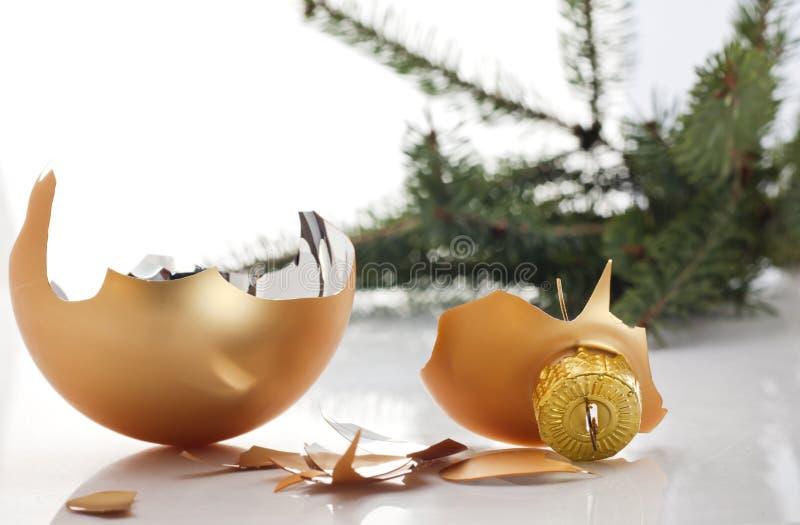 Χριστούγεννα αποτυχημένα στοκ εικόνες