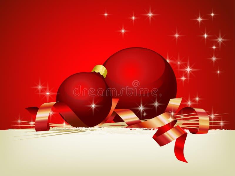 Χριστούγεννα ατμόσφαιρας διανυσματική απεικόνιση