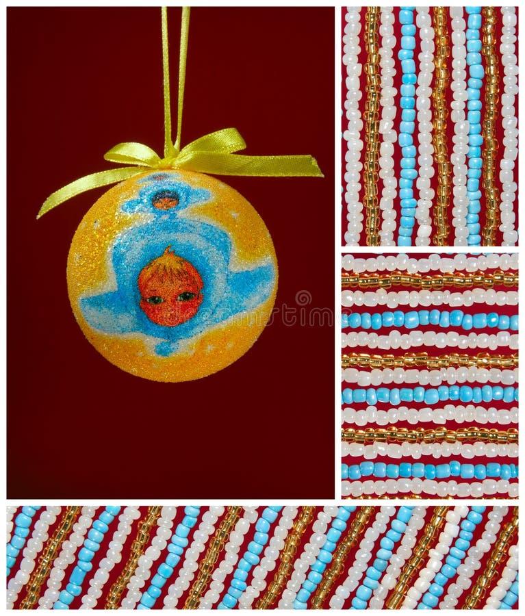 Χριστούγεννα βολβών αγγέ&la στοκ εικόνα