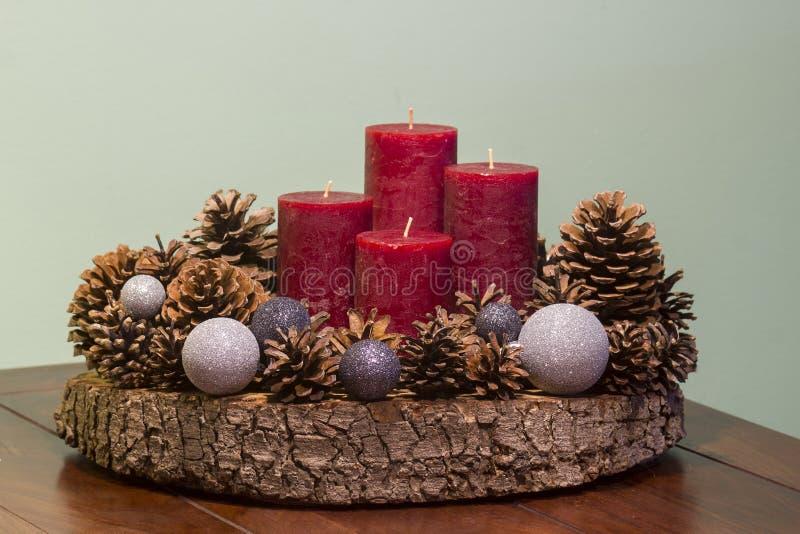 Χριστούγεννα, διακόσμηση εμφάνισης στοκ εικόνες