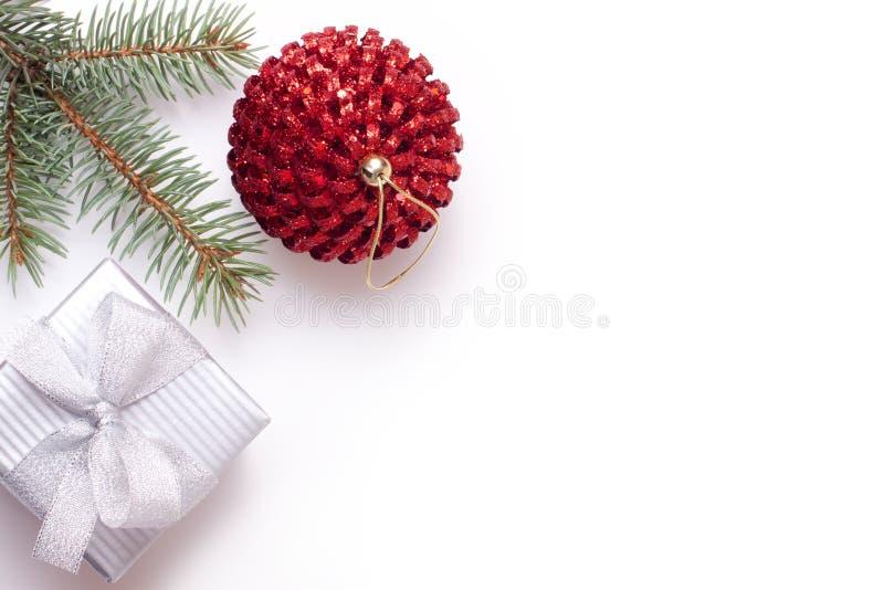 Χριστούγεννα δώρων κιβωτί&om στοκ φωτογραφίες
