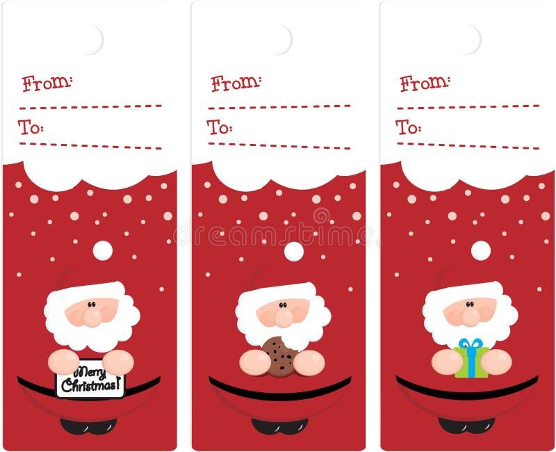 Χριστούγεννα ετικεττών απεικόνιση αποθεμάτων