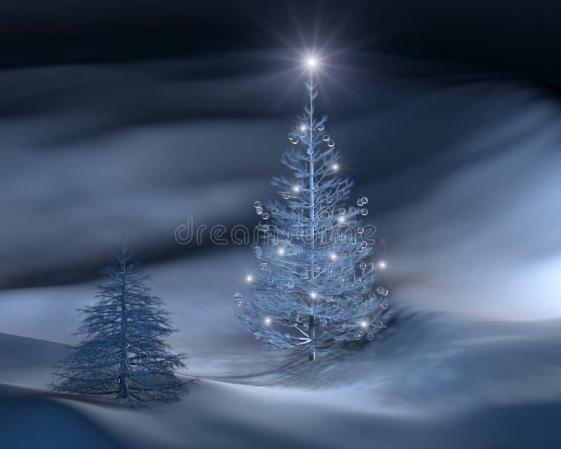 Χριστούγεννα ΙΙΙ δέντρο ελεύθερη απεικόνιση δικαιώματος