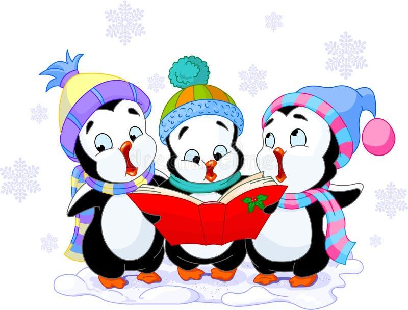 Χριστούγεννα κάλαντων απεικόνιση αποθεμάτων
