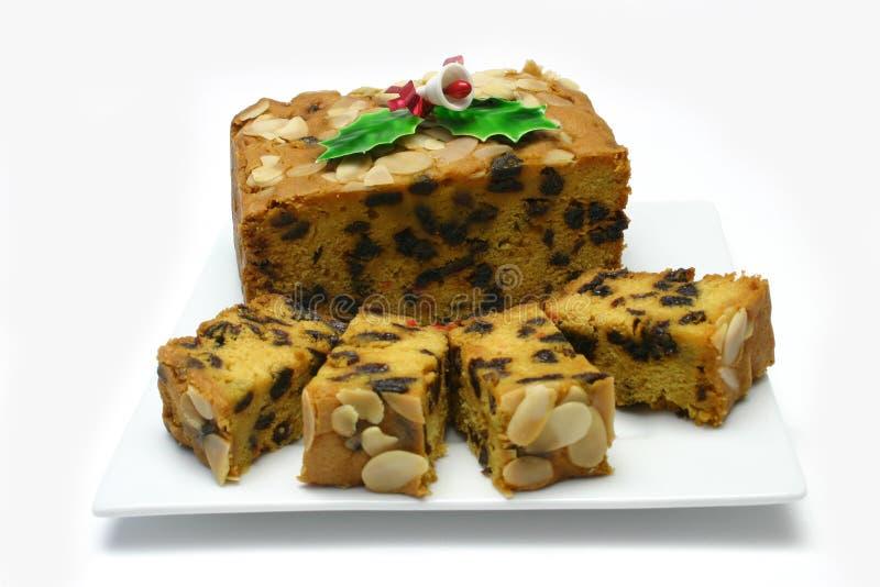 Χριστούγεννα κέικ στοκ φωτογραφίες