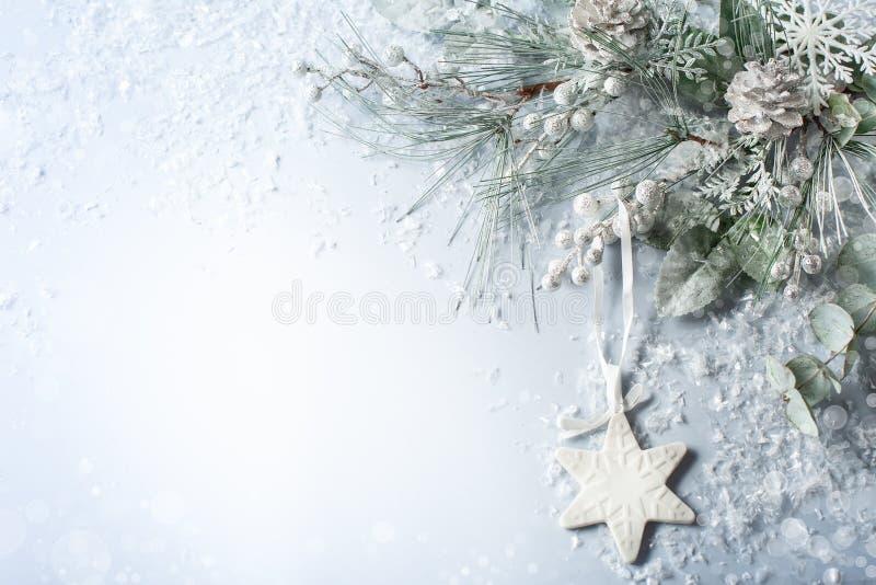 Χριστούγεννα και νέα έννοια διακοπών έτους στοκ εικόνες