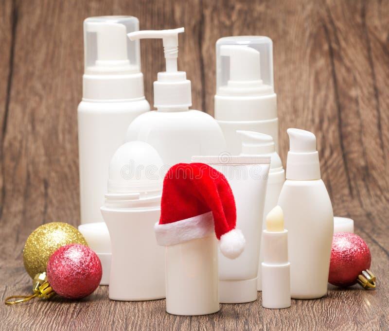 Χριστούγεννα και νέα πώληση έτους ή έννοια δώρων στοκ φωτογραφία