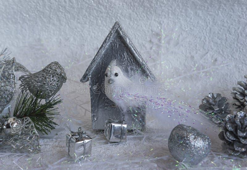 Χριστούγεννα και νέα σύνθεση έτους στοκ φωτογραφίες