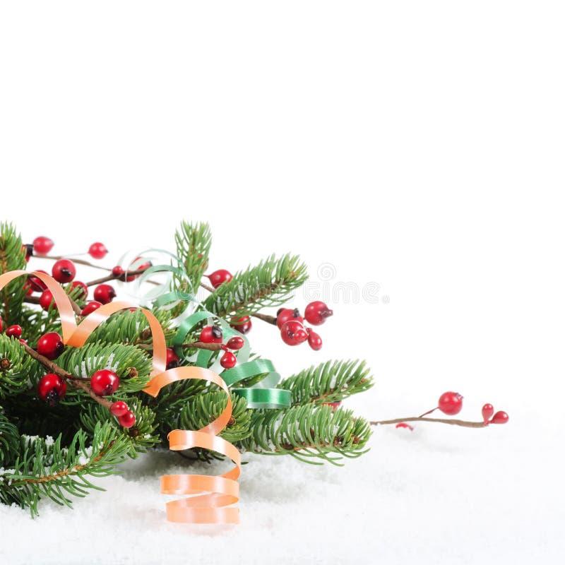 Χριστούγεννα και νέα σύνορα έτους στοκ φωτογραφίες με δικαίωμα ελεύθερης χρήσης