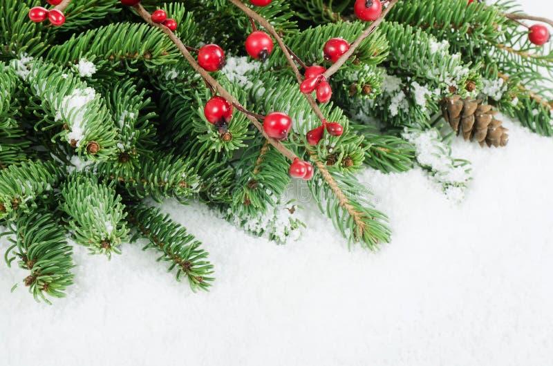 Χριστούγεννα και νέα σύνορα έτους στοκ φωτογραφίες
