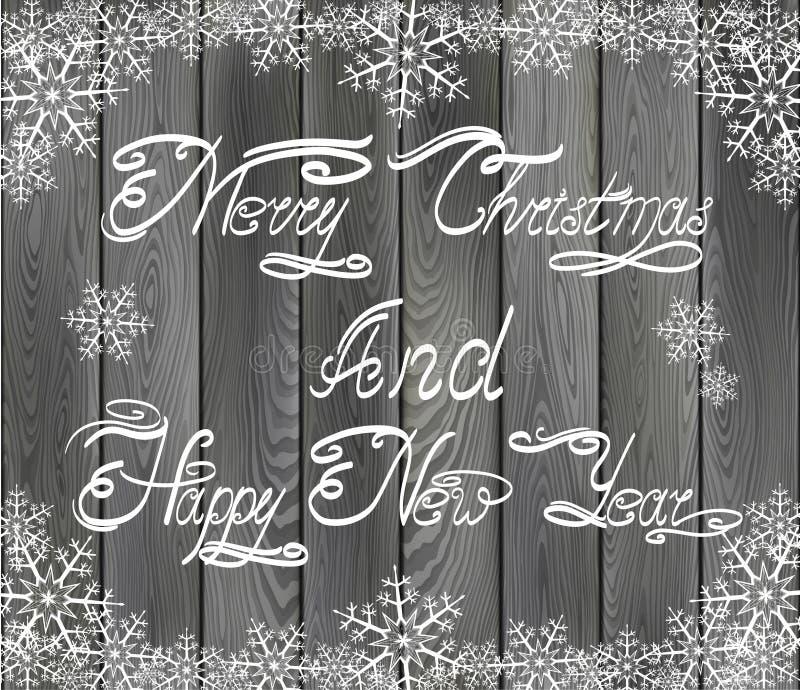 Download Χριστούγεννα και νέοι χαιρετισμοί ετών Διανυσματική απεικόνιση - εικονογραφία από συγχαρητήρια, χριστούγεννα: 62716503