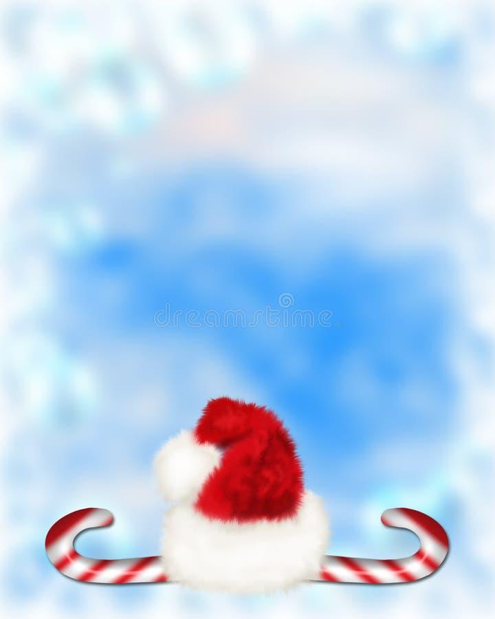 Χριστούγεννα καλάμων 5 καρ διανυσματική απεικόνιση