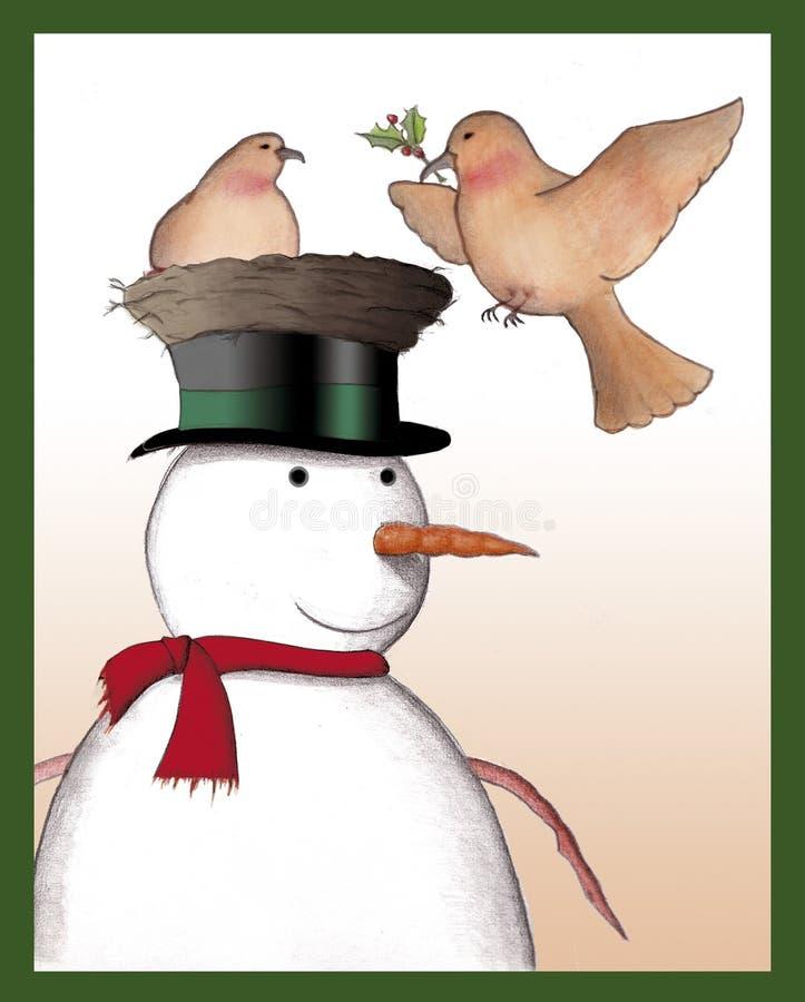 Χριστούγεννα καρτών διανυσματική απεικόνιση