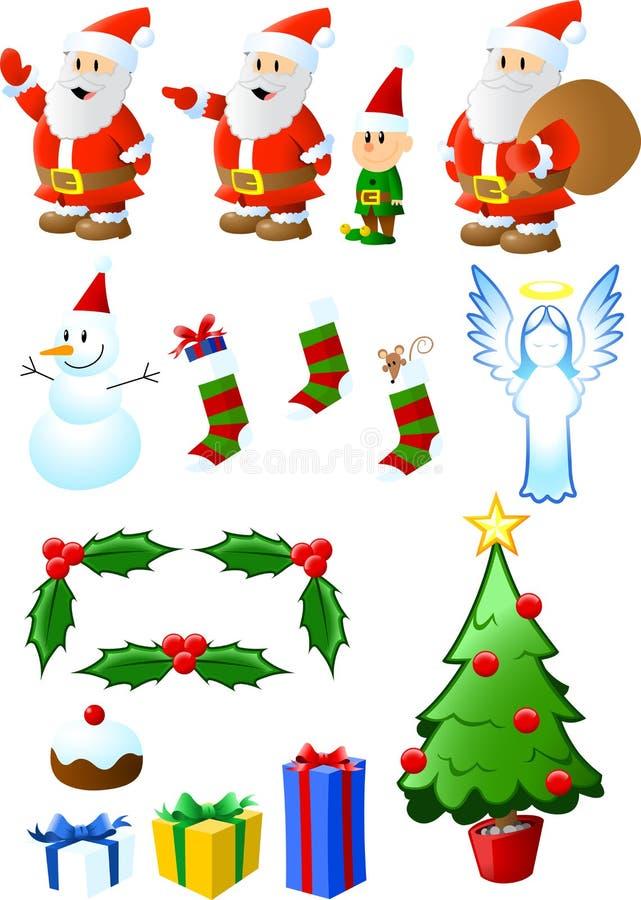 Χριστούγεννα κατατάξεων ελεύθερη απεικόνιση δικαιώματος