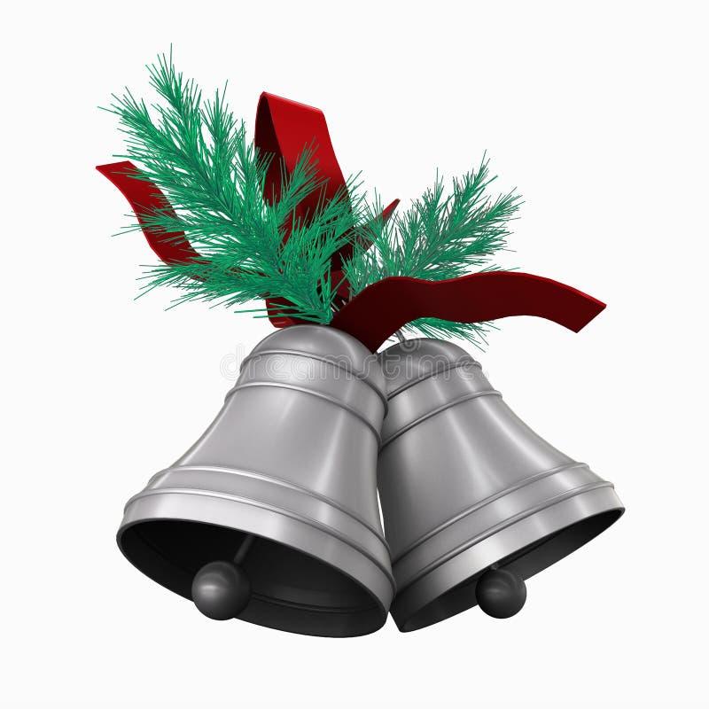 Χριστούγεννα κουδουνι διανυσματική απεικόνιση
