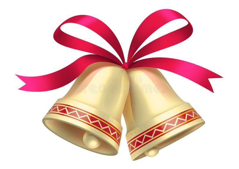 Download Χριστούγεννα κουδουνι απεικόνιση αποθεμάτων. εικονογραφία από κόκκινος - 17058894