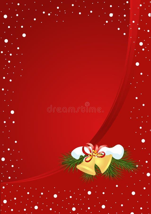 Χριστούγεννα κουδουνι απεικόνιση αποθεμάτων