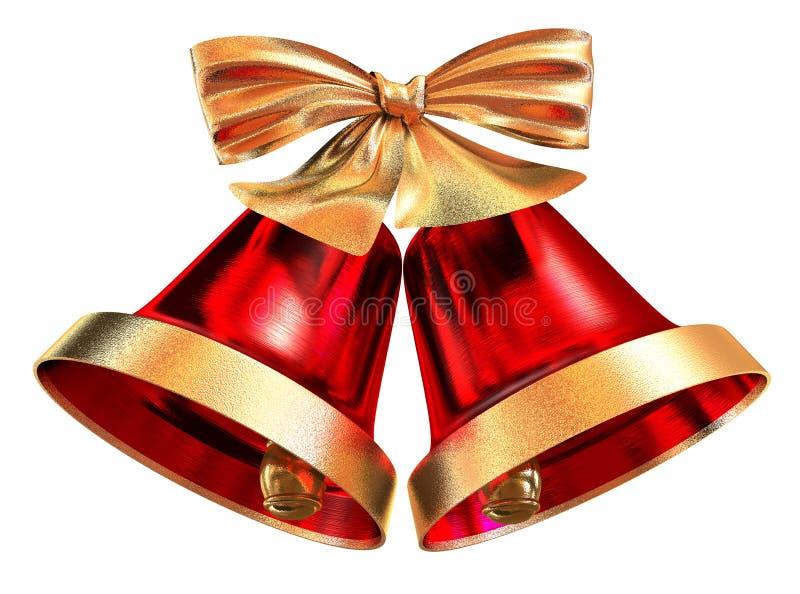 Χριστούγεννα κουδουνι στοκ εικόνες