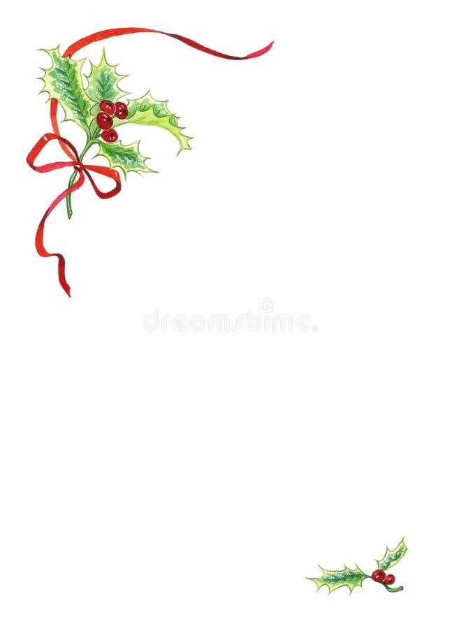 Χριστούγεννα μούρων Στοκ Φωτογραφίες