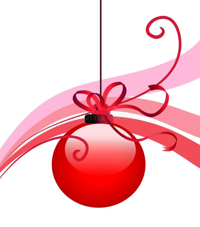 Χριστούγεννα μπιχλιμπιδιών διανυσματική απεικόνιση