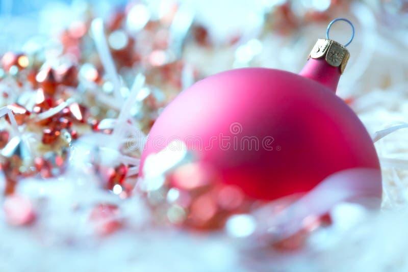 Χριστούγεννα μπιχλιμπιδιών στοκ φωτογραφία