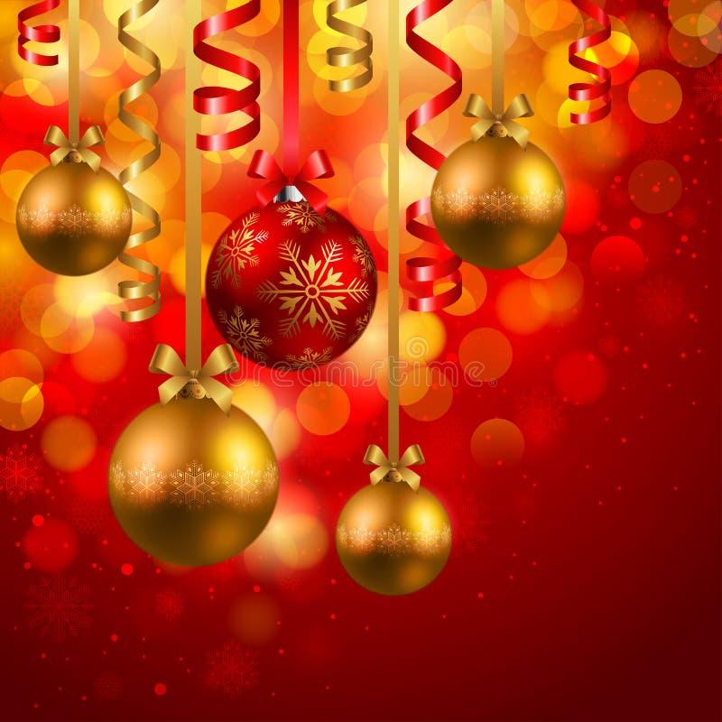 Download Χριστούγεννα μπιχλιμπιδι διανυσματική απεικόνιση. εικονογραφία από ευτυχής - 17055878