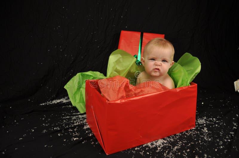 Χριστούγεννα μωρών στοκ φωτογραφία με δικαίωμα ελεύθερης χρήσης