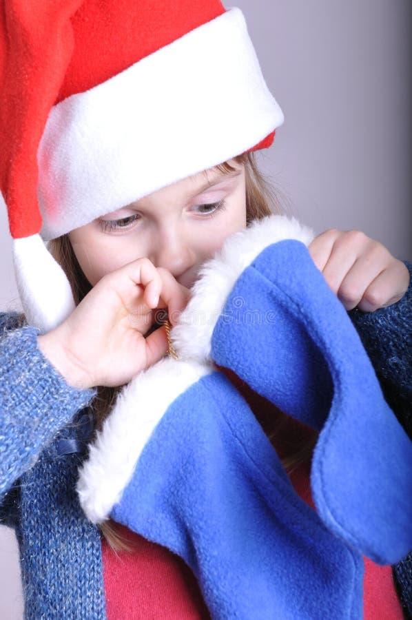 Χριστούγεννα παιδιών που & στοκ φωτογραφίες