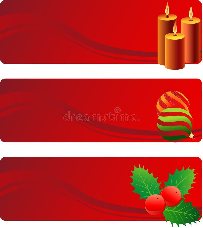 Χριστούγεννα πλαισίων διανυσματική απεικόνιση