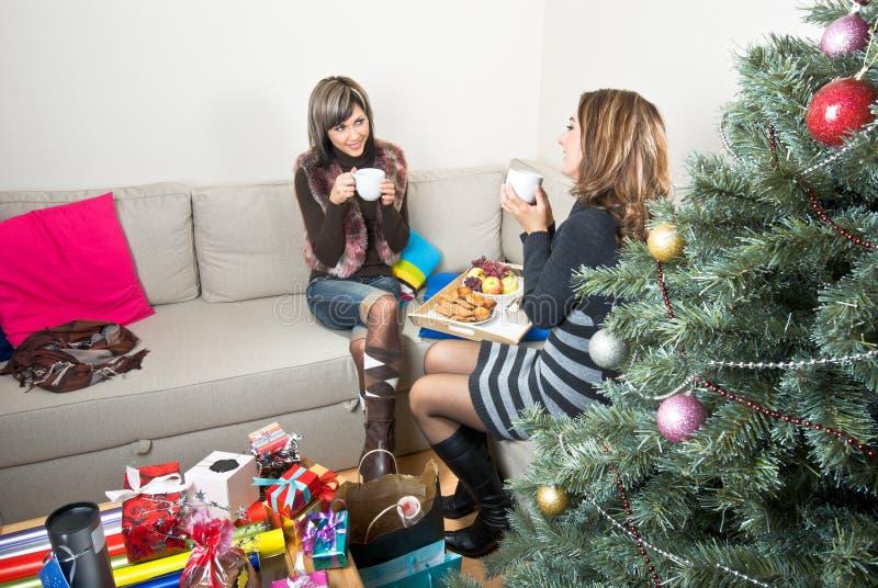 Χριστούγεννα προγευμάτω στοκ φωτογραφίες με δικαίωμα ελεύθερης χρήσης