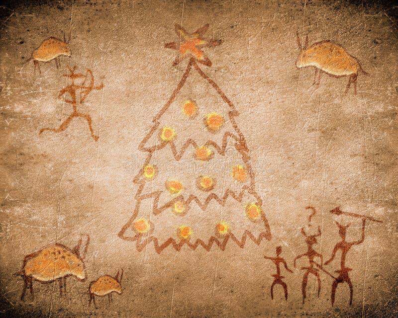Χριστούγεννα σπηλιών που & ελεύθερη απεικόνιση δικαιώματος